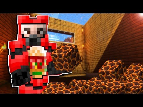 We Made a Magma Block Trap in a Friends House & Prank Gone Wrong! - Minecraft Multiplayer