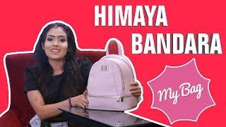 Gambar cover කවුරුත් දැකපු නැති දෙයක් සොනාලි ටීචර්ගේ බෑග් එකෙන් එළියට   My Bag With Himaya Bandara