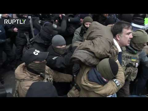 Видео задержания Михаила