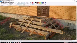 видео Как сделать опалубку для ступенек крыльца