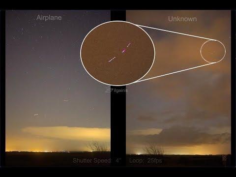 nouvel ordre mondial | UFO in sky Wiltshire, UK - December 19, 2017