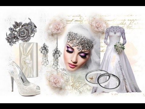 Muslim Wedding Dress Selection From Nedraz Bridals UK - YouTube
