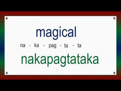 60 English Tagalog Advanced Adjectives # 124 ( Build Your Vocabulary )