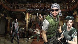 Resident Evil HD-  Jill, PC (Door Skip) - gameplay Español