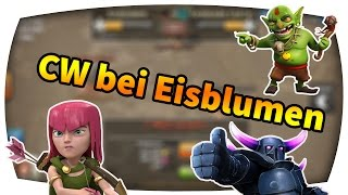 Let´s Play Clash of Clans // Clankrieg bei Eisblumen #17 (German/Facecam/HD)
