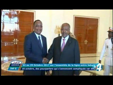 Télé Djibouti Chaine Youtube : JT Français du 09/10/2017