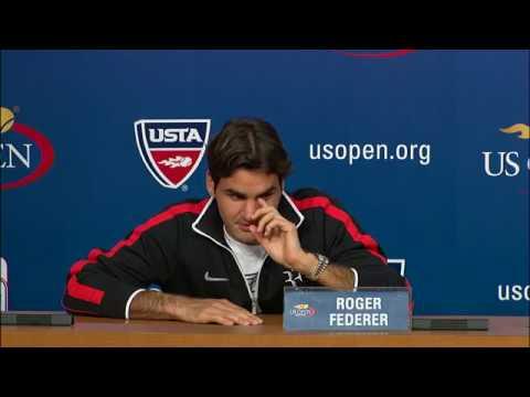 2009 US Open Press Conferences: Roger Federer (Semifinals)