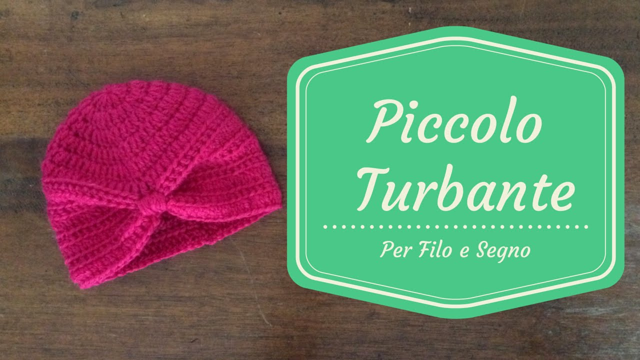 Tutorial - Piccolo Turbante - YouTube f879c3a027ab