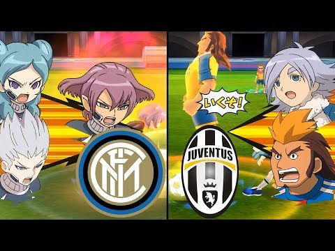[Full HD 1080P] Inazuma Eleven Lega Serie A ~ Inter Milan vs Juventus ※Pokemon Anchor※
