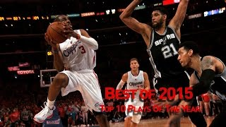 Top 10 Plays of 2015