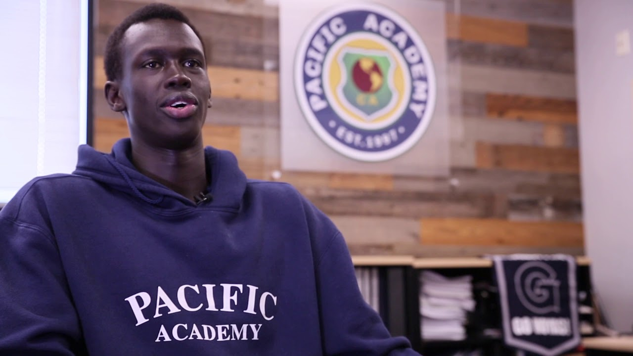 Pacific Academy Class of 2020 graduate, 5-Star Basketball Recruit, Makur Maker Testimonial