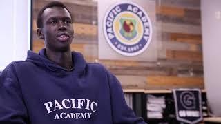 Pacific Academy Class of 2020 graduate, 5-Star Basketball Recruit, Makur Maker Testimonial