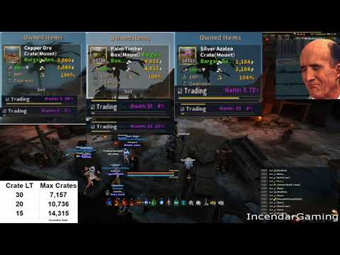 Faster trade gains with higher crate stacks! M2 M10 junk cra