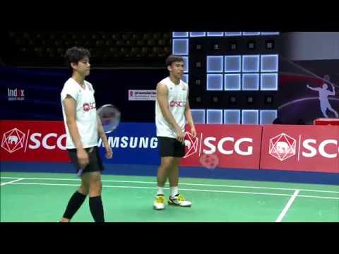 SCG Thailand Open 2016 | Badminton SF M4-XD | Tan/Lai vs Dec/Tae