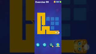 Line Puzzle: Funny Cats Level 31 32 33 34 35 36 37 38 39 40 Gameplay