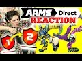 ARMS Direct LIVE REACTION! - Ranking System, New Characters, Modes