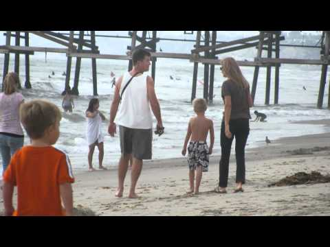 Walking the California coastline #1 - Calafia to Ole Hanson Beach Club - American Family Kinney