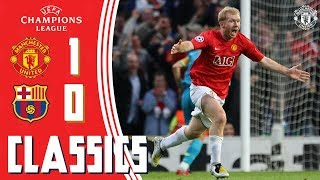 Champions League Classic | Manchester United 1-0 Barcelona (2008) | Semi-Final 2nd Leg | UCL Draw Video