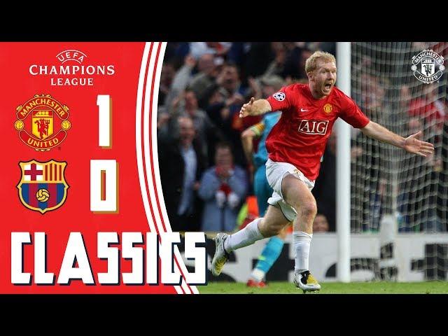 Champions League Classic   Manchester United 1-0 Barcelona (2008)   Semi-Final 2nd Leg   UCL Draw
