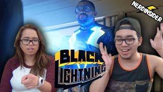 BLACK LIGHTNING First Look Trailer REACTION