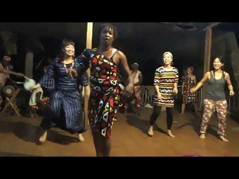 Les Percussions de Kouroussa avec Solo Keita. Conakry 2016