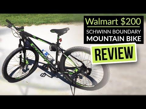 Walmart $200 Schwinn boundary mountain bike review for the