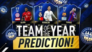 TEAM OF THE YEAR PREDICTION!