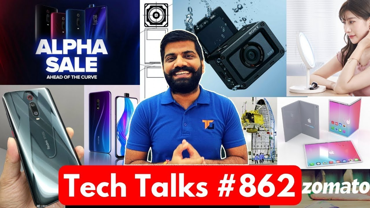 Tech Talks #862 - K20 Sale, Realme 3 Lite, Chandrayaan2, OnePlus 7 Mirror Blue, PUBG Ban, Sony RXOII