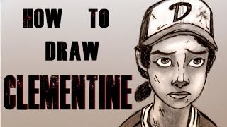 Ep. 139 How to draw Clementine from the Walking Dead Videogame