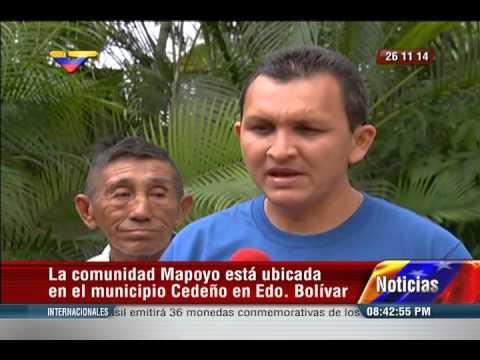Rindieron honores al pueblo Mapoyo tras ser declarados Patrimonio por la Unesco