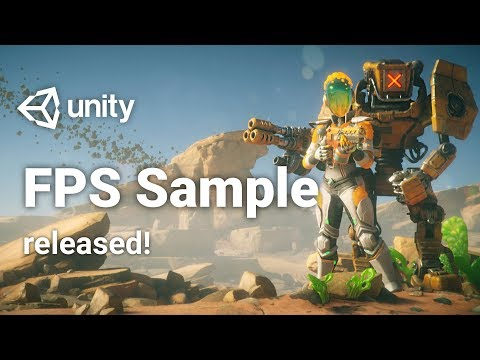 FPS Sample is now available in Unity 2018!