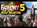 Far Cry 5 - WOLF BEACON Locations   Jacob Cult Beacon Properties