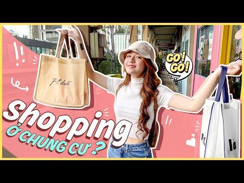 Chung cư mua sắm hot nhất Sài gòn || Shopping tại các tòa nhà chung cư cũ?