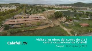 Visita a les obres del centre de dia i ocupacional de la Masia de la Sínia
