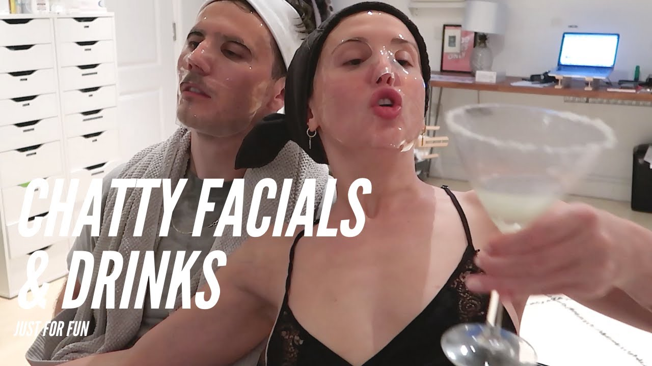 CHATTY VID: TRYING OIL CLEANSING FACIALS & DRINKS WITH MY BOYFRIEND || STYLE LOBSTER