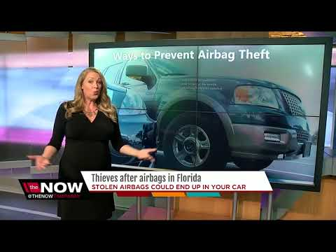 Thieves after airbags in Florida