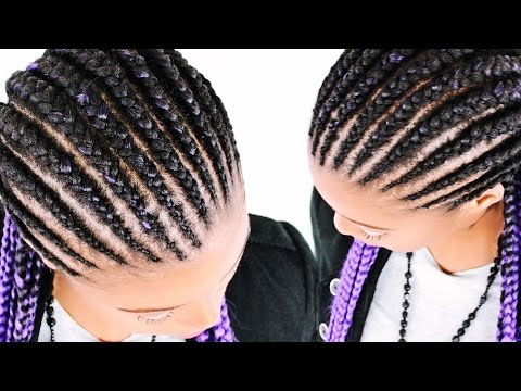How To: Feed In Braids FOR BEGINNERS! (Step By Step)