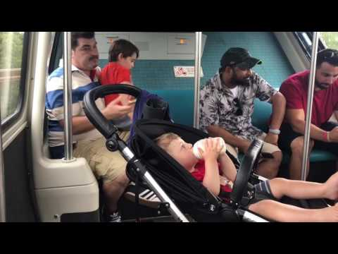Florida Day 5: Stranded on Disneys Monorail!! | MummyandMunc