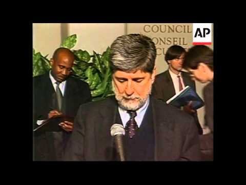 UN: UN ANGOLA CRISIS PRESS CONFERENCE