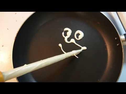 Как испечь необычные блинчики