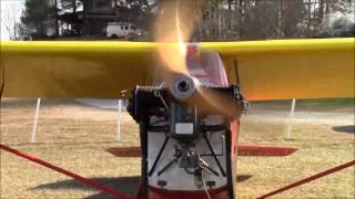 1932 Tayor E-2 Cub First Engine Run