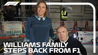 Williams Family Steps Back From F1: What Does The Future Hold?