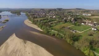 Pouilly sur Loire Drone vu du ciel