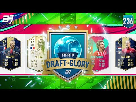 BOOM! MBAPPE JUST DOESN'T STOP! | FIFA 19 DRAFT TO GLORY #236