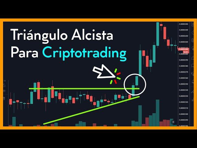 Aprende a operar los Triángulos Alcistas en el Criptotrading.!