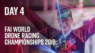 FAI World Drone Racing Championships: Day 4 Highlights