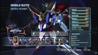 Dynasty Warriors: Gundam Reborn All Pilots and Mobile Suits (Including DLC) [PS3]