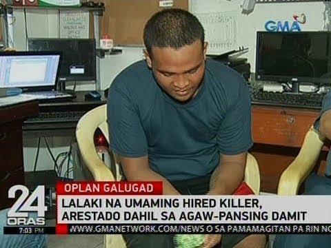 Lalaki na umaming hired killer, arestado dahil sa agaw-pansing damit