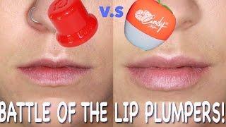 FULLIPS v CANDYLIPZ! Battle of the Lip Plumpers | Beauty Banter