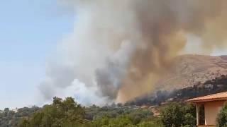 Trois incendies éclatent dans l'arrière pays ajaccien